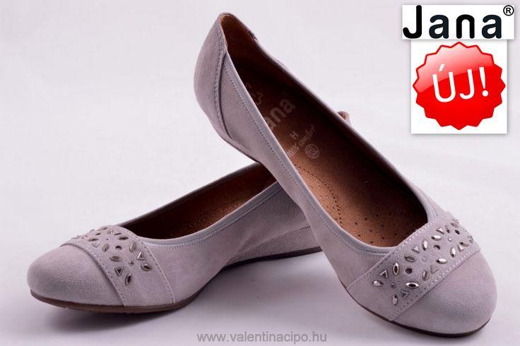 Jana női balerina cipő szürke színben is!  http://valentinacipo.hu/22201-26-224  #jana   #jana_webshop   #jana_cipő