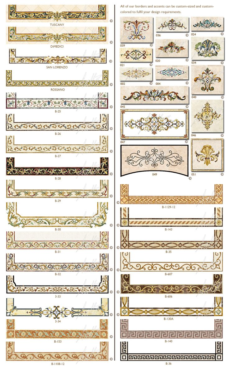 Creative Edge Master Shop Borders and Accents LOVE the Greek Key design