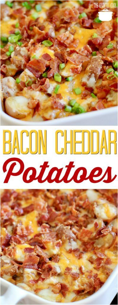 Bacon Cheddar Potatoes | Posted By: DebbieNet.com