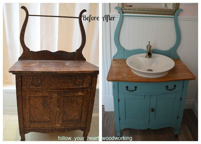 I Want An Antique Washstand To Re Purpose For A Sink