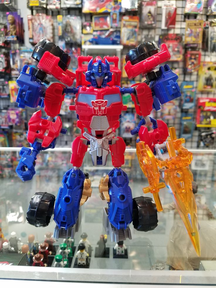 Transformers Construct Bots Optimus Prime Products
