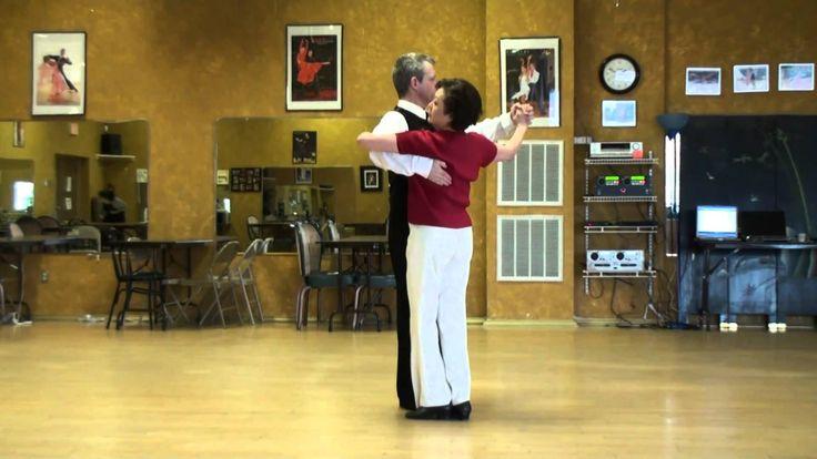 International Tango Promenade To Pivots Roll Lunge