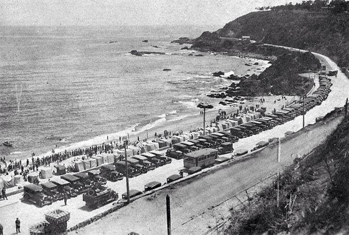 Playa Las Salinas, Viña del Mar, 1930