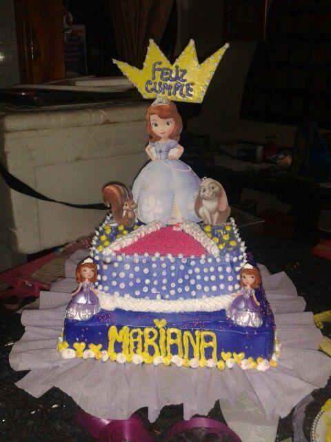 Torta princesa sofia..