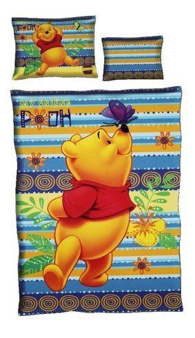 Detské obliečky DISNEY – MACKO PU, 3diely 100%bavlna http://www.milinko-oblecenie.sk/detske-obliecky-disney/