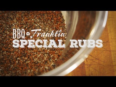 BBQ with Franklin: Special Rubs | Grilling with Rich