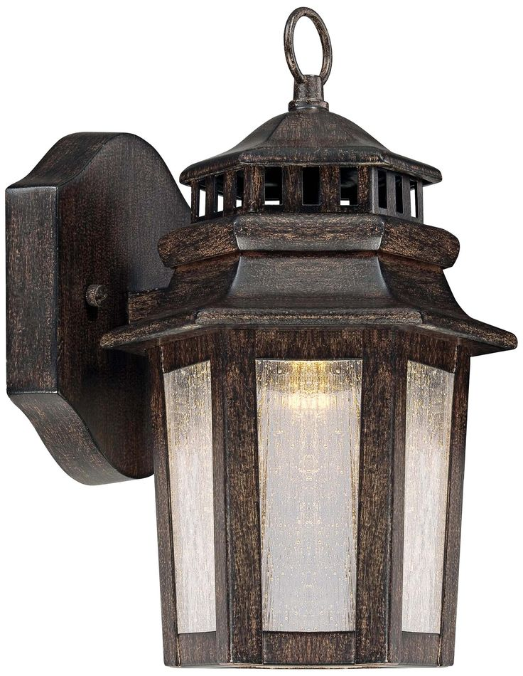Wickford Bay 10 1/2  High LED Outdoor Wall Light - $120 at L&s  sc 1 st  Pinterest & 38 best New Outdoor Lights images on Pinterest   Outdoor walls ... azcodes.com