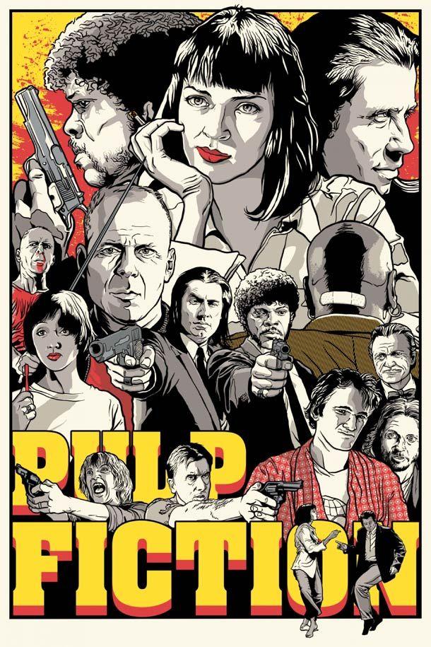 Une sélection des superbes posters de l'artisteJoshua Budich, qui rend hommage à de nombreux films cultes avec des illustrations vraiment magnifiques. On y