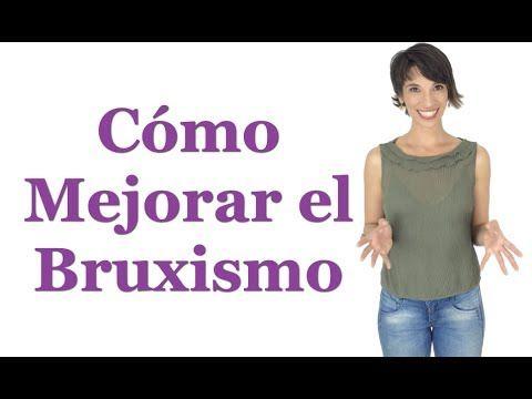 Ejercicios de relajación de mandíbula para bruxismo o rechinar de dientes - YouTube