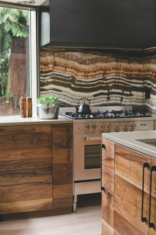 Earthy Wood And Stone Kitchen Christina M Tello Interiors Gallery Of Recent Work