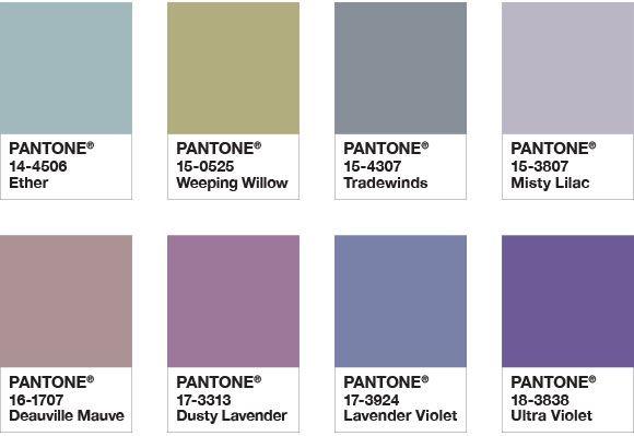 Ультрафиолет (Ultra Violet): цвет 2018 года по версии Pantone