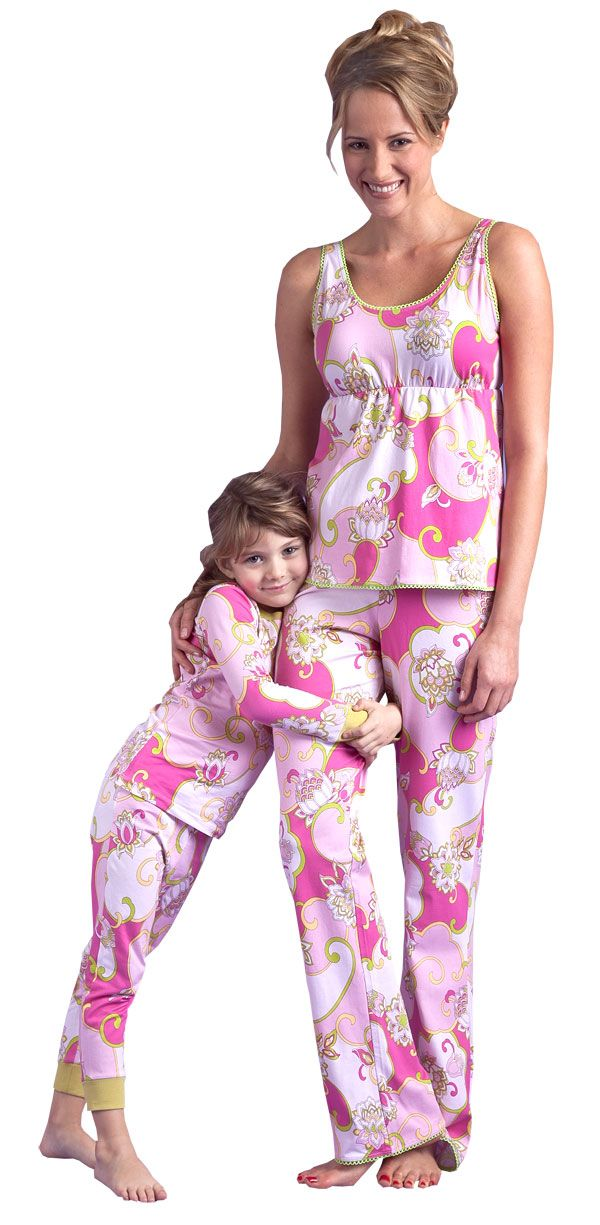 matching pajamas for mother and baby