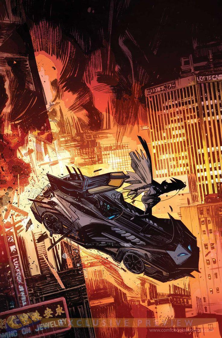 Batman Eternal by Tommy Lee Edwards