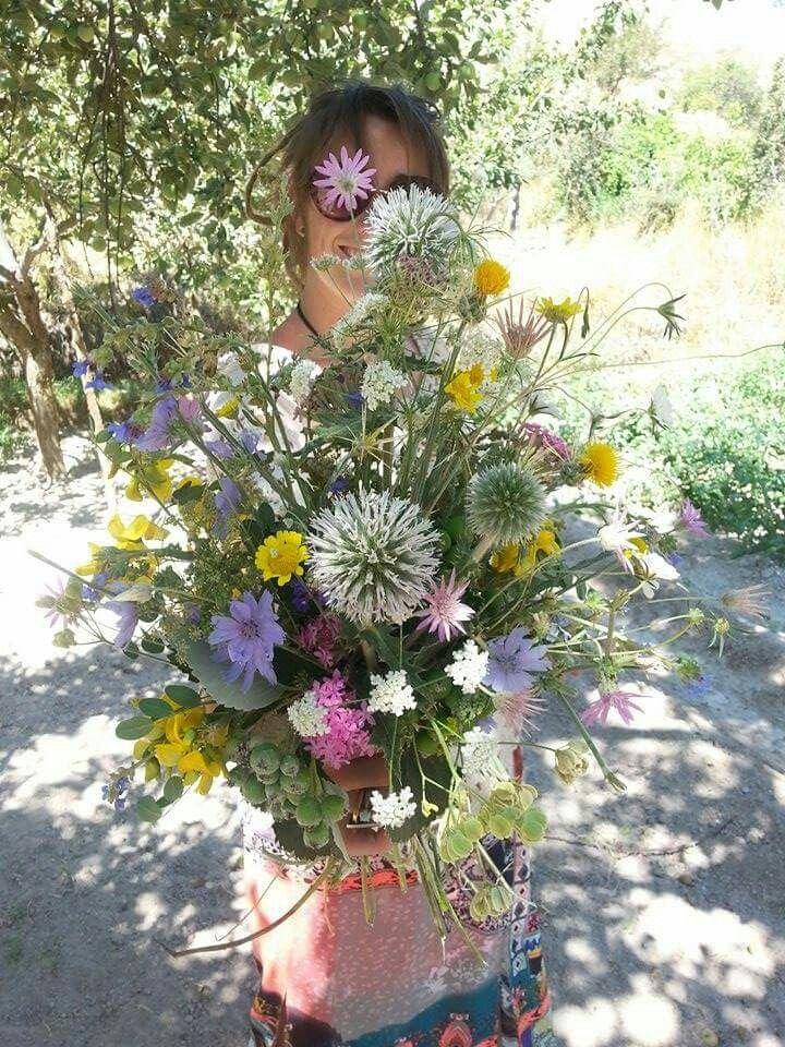 Turkish wild flowers by febella flowers