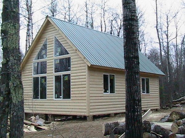 20 x 20 cabin plans loft hunting cabin plans pinterest for Hunting cabin house plans