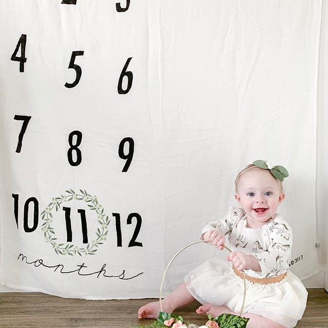 Wall Hanging Milestone Blanket Baby Milestone Baby Milestone Ideas Baby One Month Milestone Monthly Baby Pictures Baby Milestone Photos Baby Month By Month
