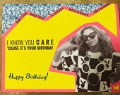 Beyonce Happy Birthday Card #beyonce