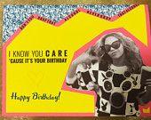 Beyonce Happy Birthday Card #beyonce