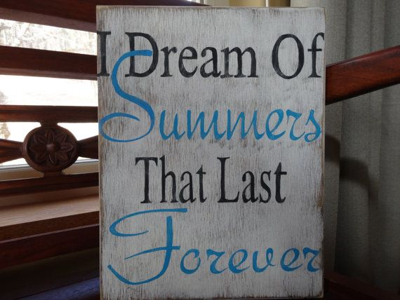 Hand Painted Wood Sign/ Beach Decor/ Patio Signs/ Summer Signs/ Outdoor  Porch Sign