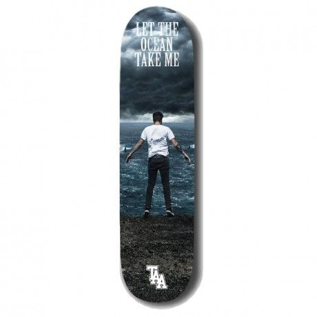 The Amity Affliction Official Store - Ocean Take me Skate Deck
