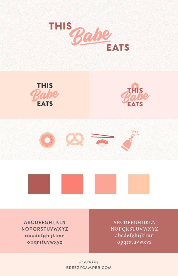 Logo + Branding: Food Blogger – This Babe Eats
