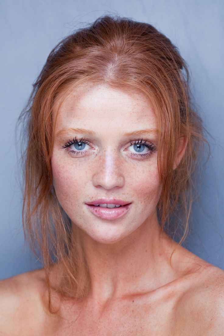 Cintia dicker! Finally a red headed Victorias secret model with freckles! She's gorgeous!