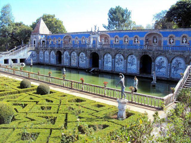 Palácio de Fronteira - Lisboa piscina e jardim