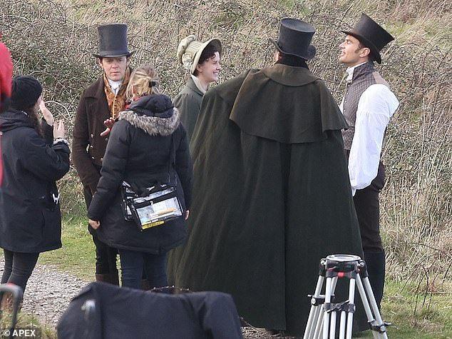 Kris Marshal Spotted On Set For Filming Jane Austen S Sanditon