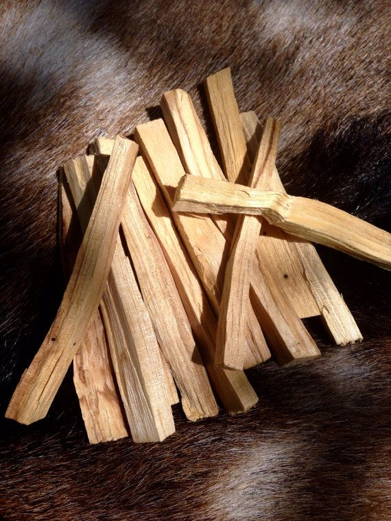 Holy Palo Santo Wood Sticks. Free Shipping with any order!  This listing is for one stick