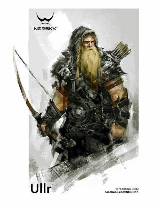 Ullr, winter has come to my home, welcome Ullr & Skadi...