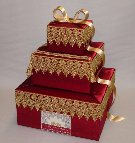 Indian Wedding Card Box-any colors от ExoticWeddingBoxes на Etsy