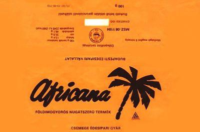 Africana csoki - 80-as évek