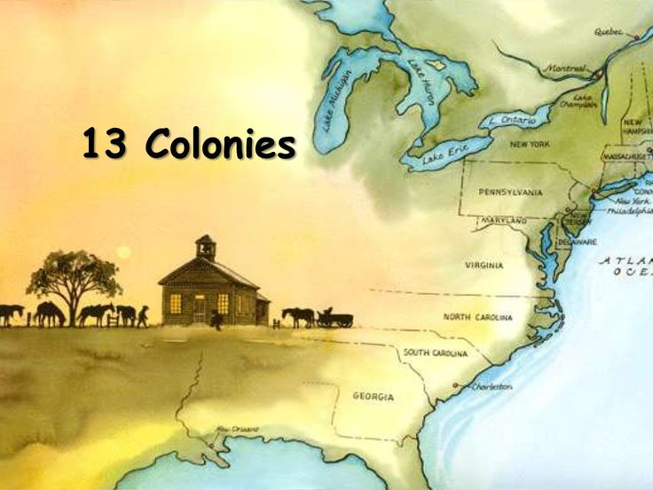 13 Colonies Power Point