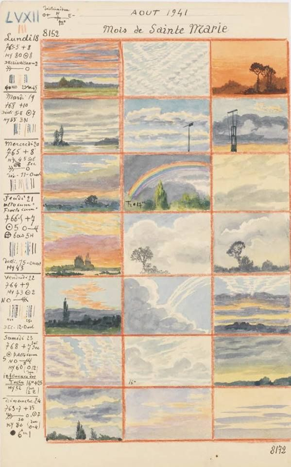 20130115/115, aquarelles d'André Des Gachons, 1919-1920, 1940-1941. © Archives nationales, France