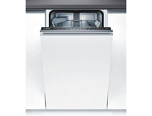 Bosch – Lave-Vaisselle 45cm Tout-Intégrable SPV50E70EU BOSCH: Lave-vaisselle ActiveWater 45 cm de large. Option VarioSpeed: votre vaisselle…