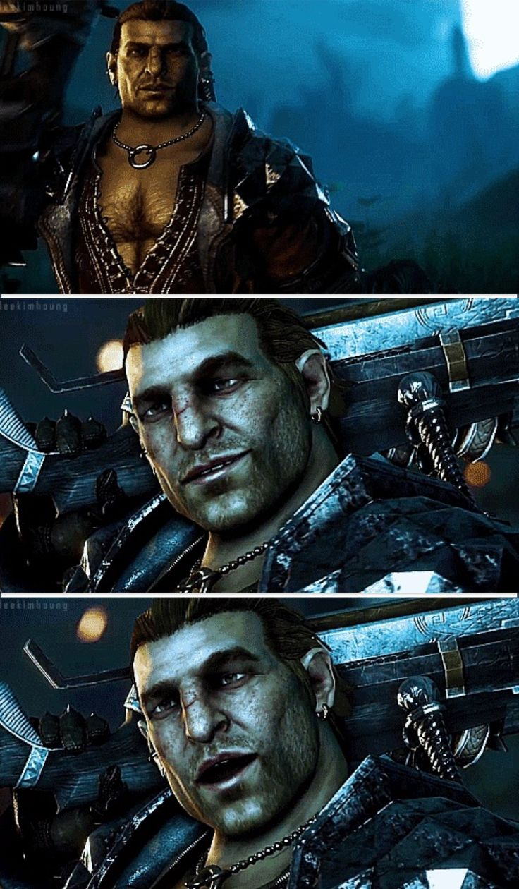 Varric Tethras. Dragon Age Inquisition.