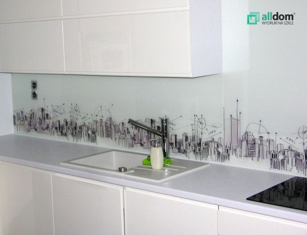 Grafiki Takze Doskonale Nadaja Sie Do Kuchni Grafika Panel Szklo Bathroom Vanity Splashback Vanity