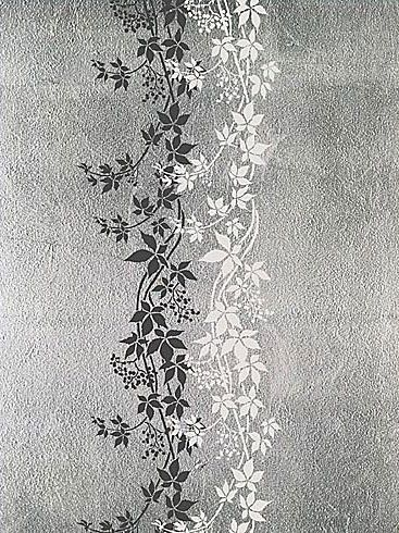 Free Large Wall Stencils | vine stencil for wall decor. Reusable wall stencils, border stencils ...