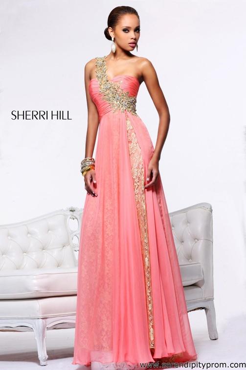 Mejores 253 imágenes de Sherri Hill 2013 en Pinterest   Vestido de ...