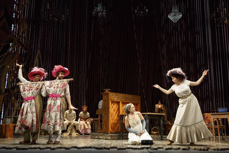 Fiasco Theater: Into the Woods- Review by The He Said She Said Experience