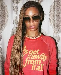 Image result for beyonce's braids 2014