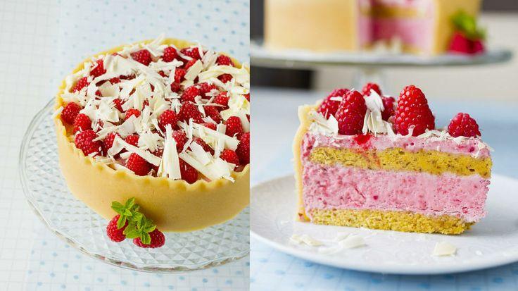 Bringebærdrøm - En drøm av en kake.