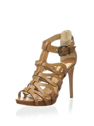 60% OFF Schutz Women's Eirininn Dress Sandal (Brownie)