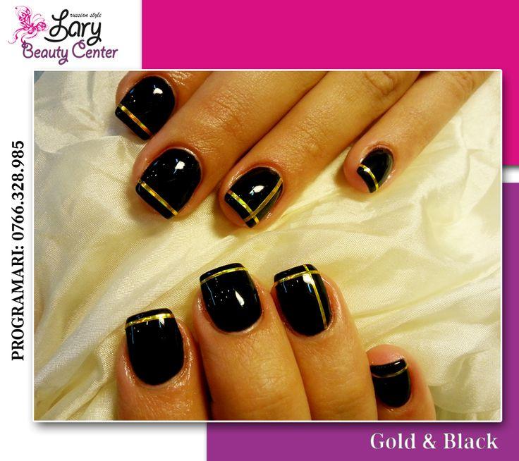 black manicure  http://www.larybeautycenter.ro/servicii/unghii-cu-gel-sau-acryl