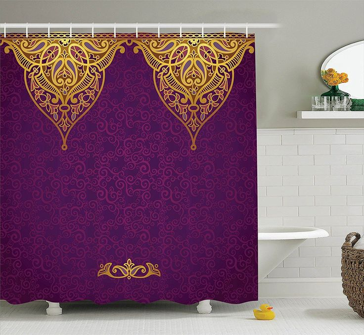 purple and gold shower curtain. Boho Royal Palace Purple Gold Shower Curtain Best 25  shower curtain ideas on Pinterest