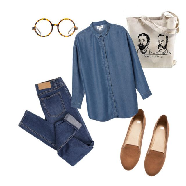 """""""Set #4"""" by boshoffanina on Polyvore featuring H&M, Cheap Monday, Jeepers Peepers and Monki"""
