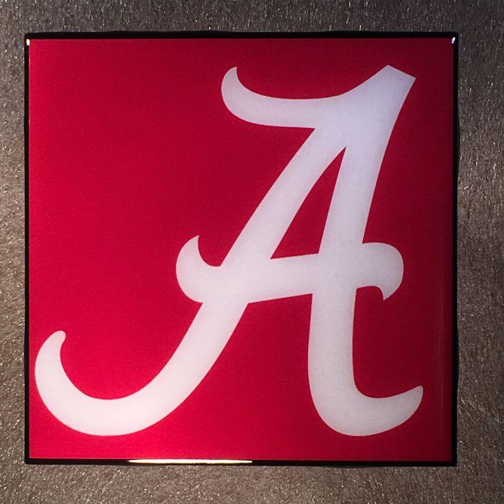 ALABAMA Crimson Tide Coaster Ceramic Tile