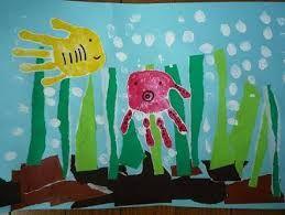Risultati immagini per 手形 魚 工作