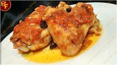 Alette di pollo in umido con maggiorana e olive Il bello del Fornello