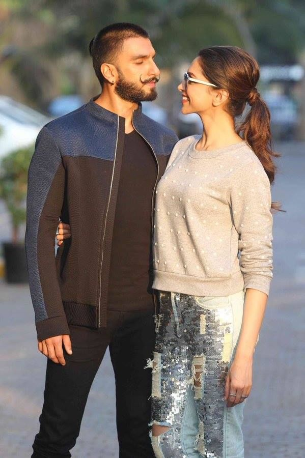 Deep and Ranveer Singh ♥ #BajiraoMastanipromotions